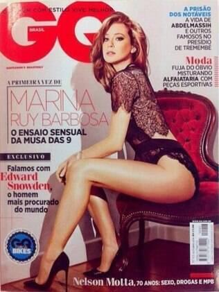 Marina Ruy Barbosa na capa da GQ