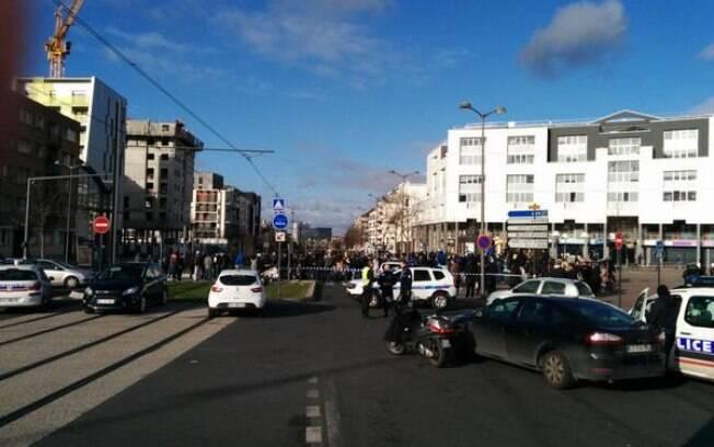 Posto dos Correios em Paris