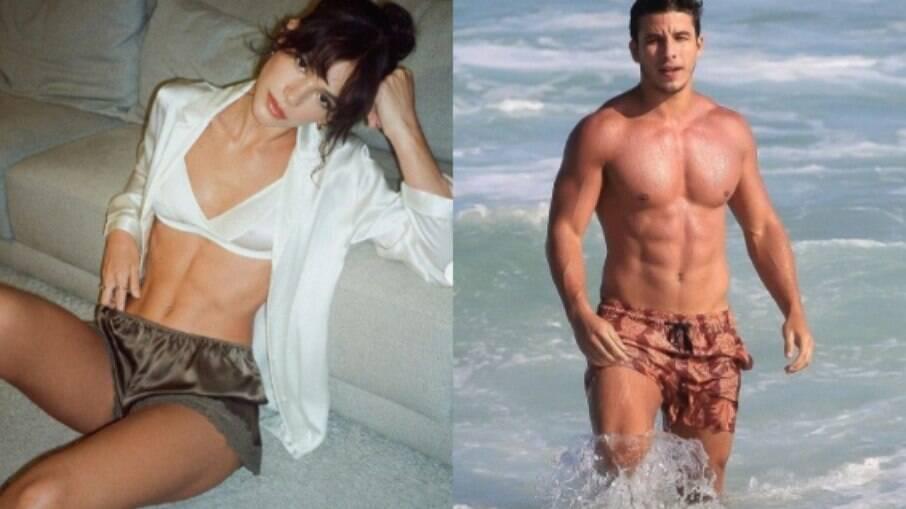 Bruna Marquezine e Ricky Tavares