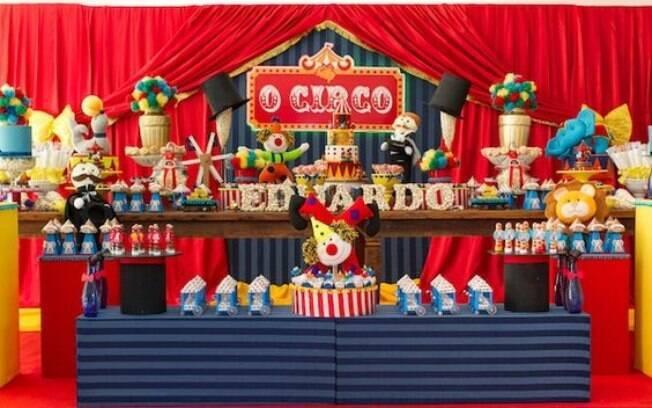 Festa infantil 7 ideias de decoraes para meninas e meninos festa infantil fica ainda mais divertida com o clima do circo thecheapjerseys Image collections