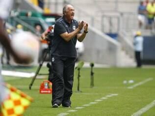 Luiz Felipe Scolari, técnico do Grêmio