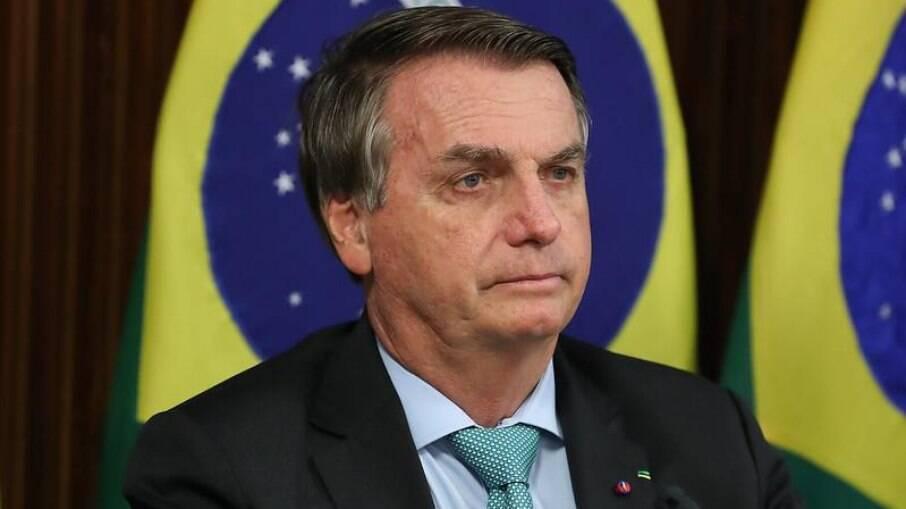 Presidente Jair Bolsonaro (sem partido) durante a Cúpula do Clima