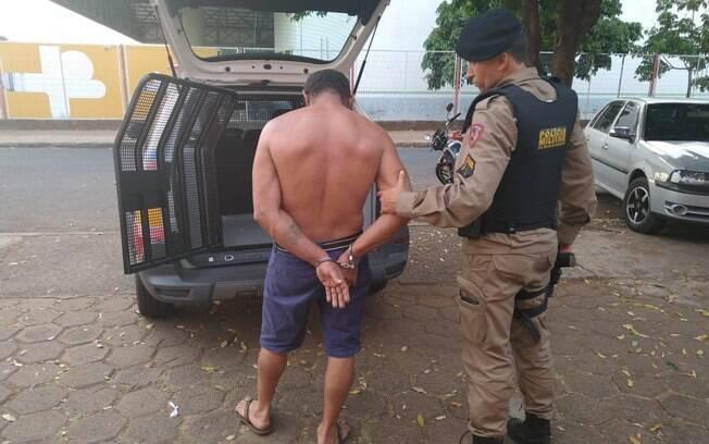 Suspeito de estuprar enteada foi preso pela Polícia Militar