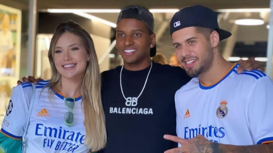 Zé Felipe e Virgínia fazem tour junto com Rodrygo