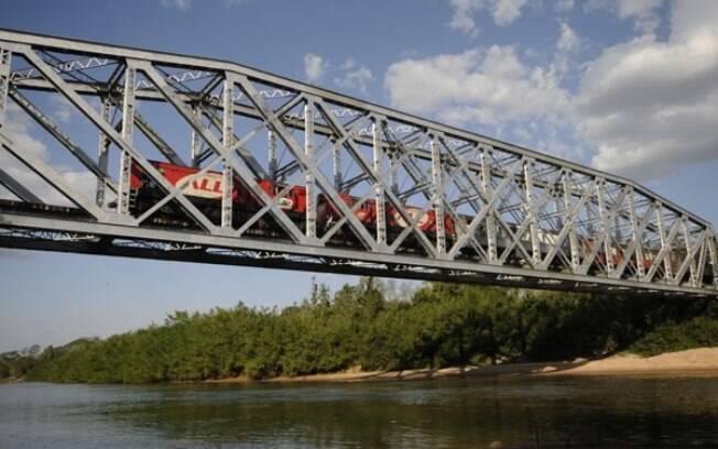 Nos 200 km percorridos pelo Trem do Pantanal pode-se ver animais da região