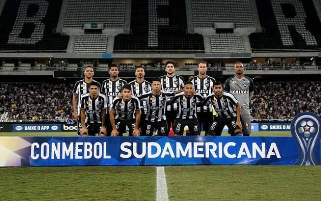 Botafogo é um dos quatro brasileiros nas oitavas da Copa Sul-Americana