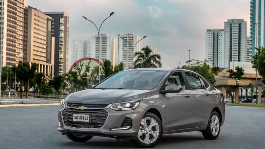 Chevrolet Onix Plus é um dos modelos afetados pela crise de desabastecimento que atinge fabricantes em todo o mundo