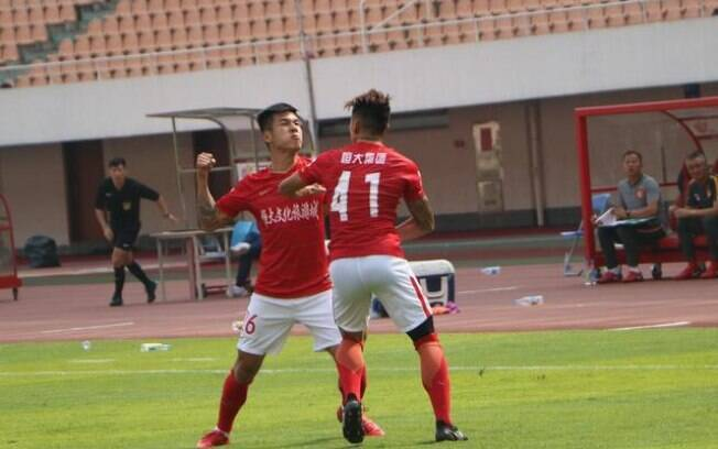 Briga entre companheiros de equipe do Guangzhou Evergrande, clube da província de Cantão, na China