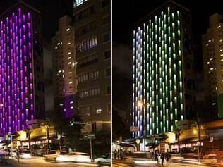 Uma fachada interativa e inteligente é a nova atração da avenida Rebouças, em São Paulo