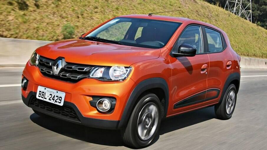 Renault Kwid: tem ficado, em média, 38 dias nos estoques das lojas, conforme a Auto Avaliar