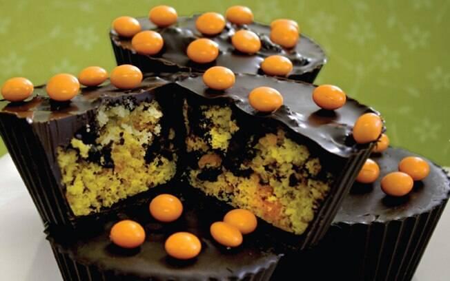 Foto da receita Cupcake de cenoura pronta.
