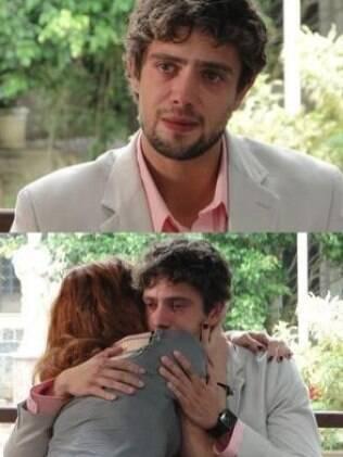 Abalado, Rodrigo recebe o apoio da irmã