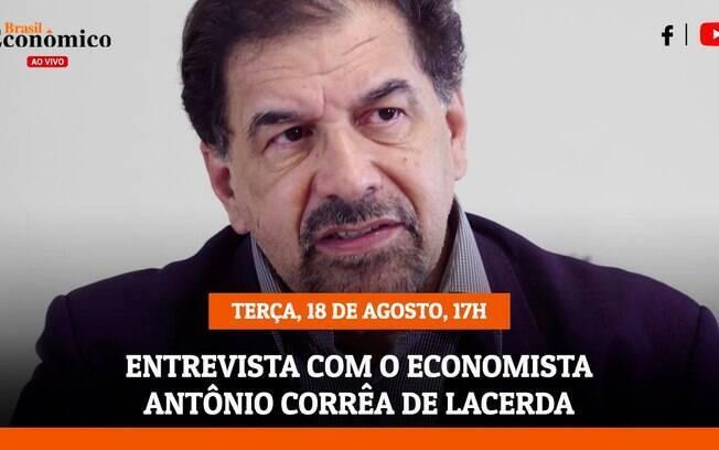Antônio Corrêa de Lacerda, presidente do Conselho Federal de Economia, é entrevistado da live do iG nesta terça (18)