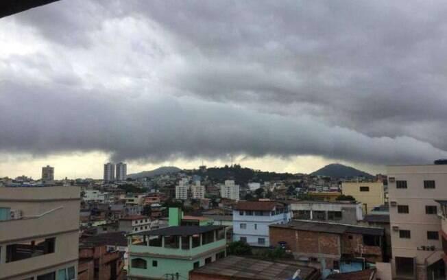 Nuvem rolo em Itanhaém