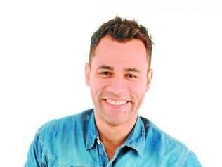 Rodrigo Sant'anna está animado com a nova função na Globo