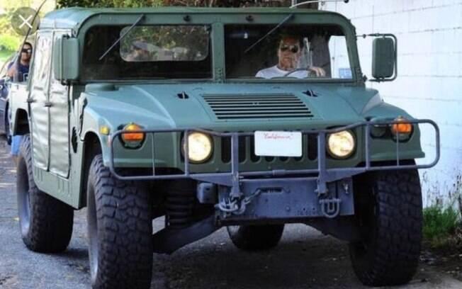 O Hummer original, do exército americano, se notabilizou nos filmes do ator americano Arnold Schwarzenegger