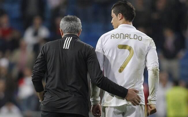 José Mourinho, técnico do Real,