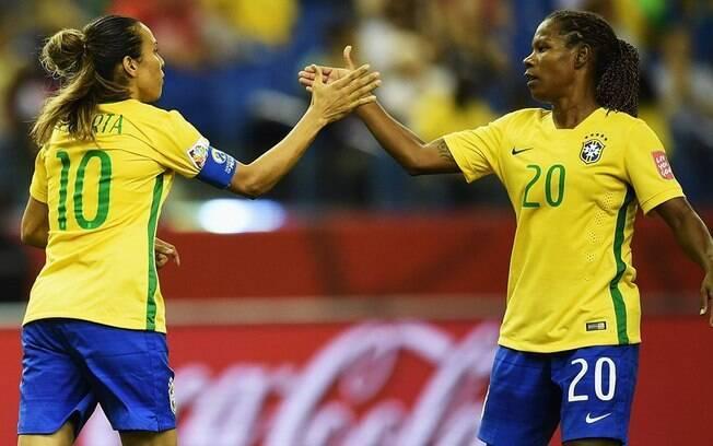 Formiga foi a jogadora que mais atuou pela seleção na história do futebol feminino e disputou seis Olimpíadas