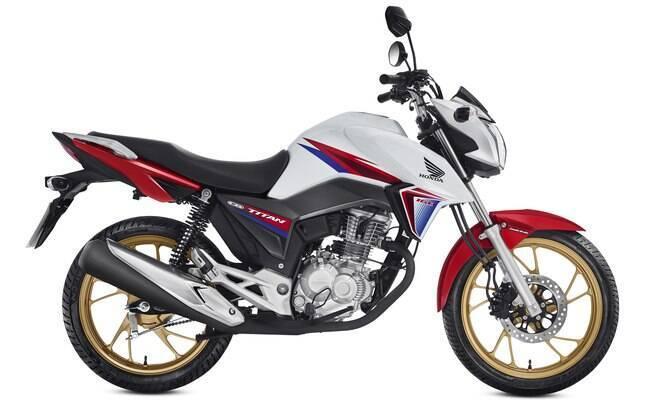 Honda CG 40 anos tem pintura inspirada nos modelos esportivos da marca japonesa
