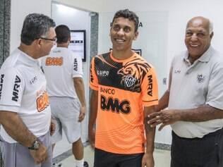 Lateral-direito Marcos Rocha se disse feliz no Atlético