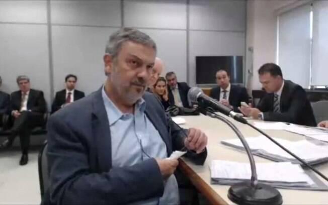 Operação Lava Jato: Antonio Palocci presta depoimento ao juiz federal Sérgio Moro na condição de réu no processo