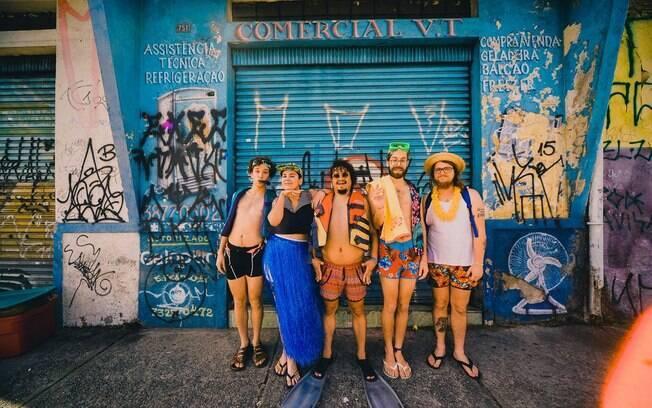 "Francisco, El hombre se apresenta com o bloco ""calor da rua"" na Casa Natura Musical"