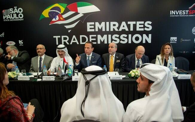 Durante a missão de negócios, a comitiva de São Paulo também inaugurou um escritório comercial em Dubai em parceria com o governo local