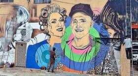 Paulo Gustavo ganha mural em sua homenagem em São Paulo
