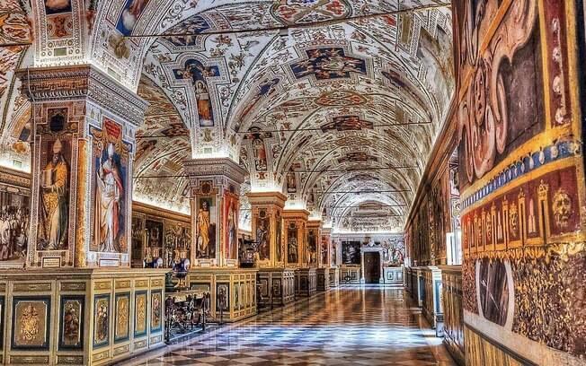 Museu do Vaticano, em Roma
