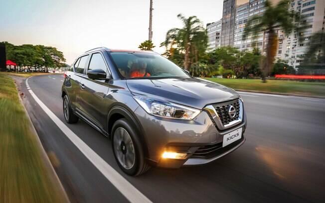 Nissan Kicks ainda nem chegou nas lojas e já é o oitavo SUV compacto mais emplacado em julho.