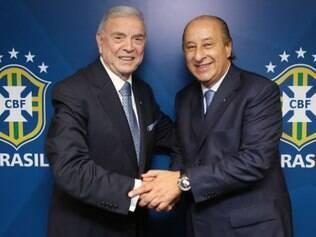 Del Nero ocupará cargo deixado por Marin, que entrou no lugar de Ricardo Teixeira