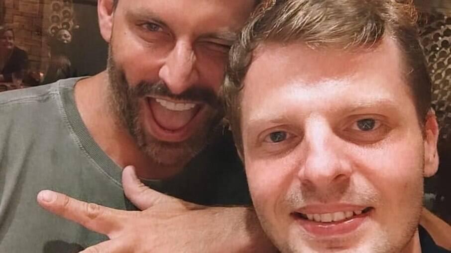 Henri Castelli e Marcos Michalak