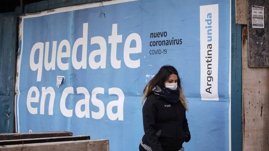 BBC/Getty Images A quarentena na Argentina já dura 5 meses