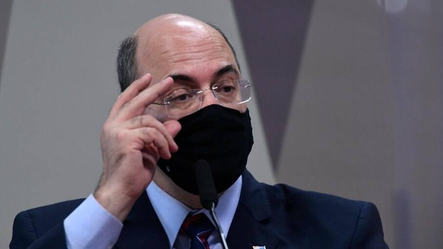 Wilson Witzel, ex-governador do Rio de Janeiro na CPI da Covid