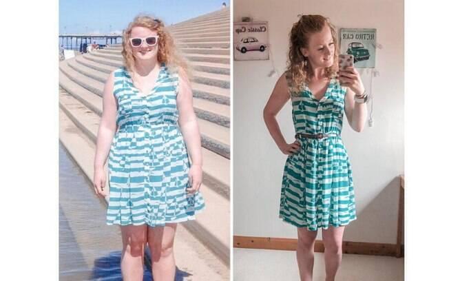 jovem consegue emagrecer 38 kg com bambolê em casa