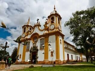 Igreja de Santo Antônio, em Tiradentes