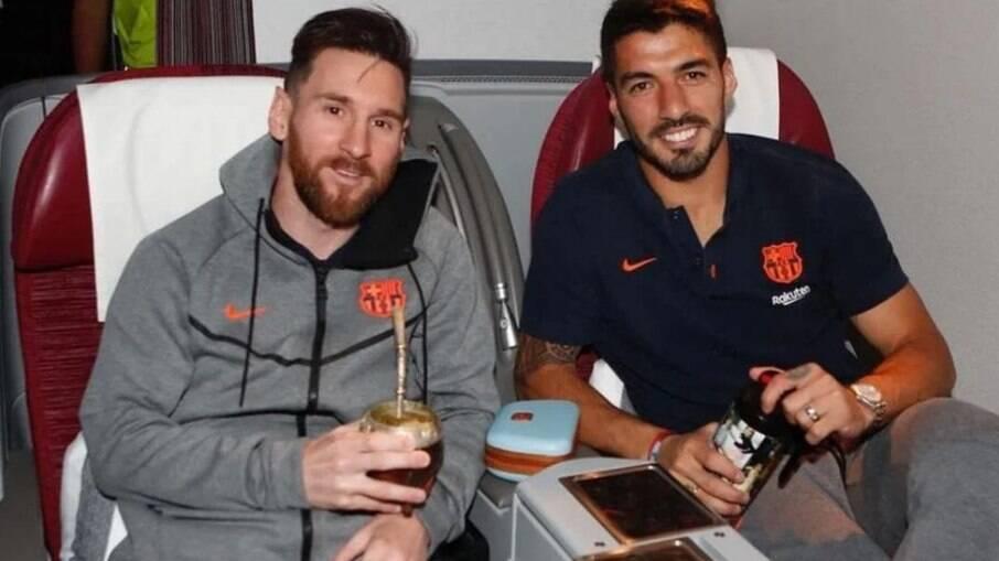 Messi e Suárez foram companheiros por seis anos no Barcelona