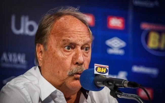 Wagner Pires de Sá ex-presidente do Cruzeiro
