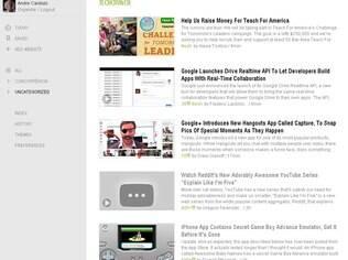 Feedly é um agregador de notícias via RSS
