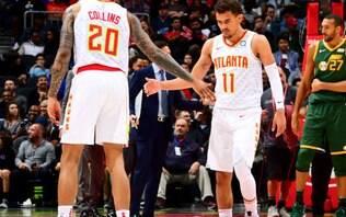 Rodada da NBA tem vitórias dos líderes do Oeste e Hawks surpreendendo o Jazz
