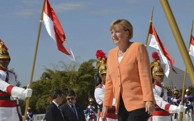 A chanceler alemã, Angela Merkel, afirma