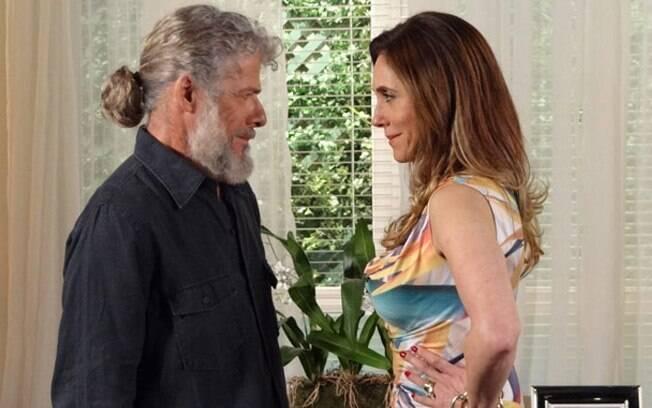 Pereirinha e Tereza Cristina começam a planejar contra Griselda