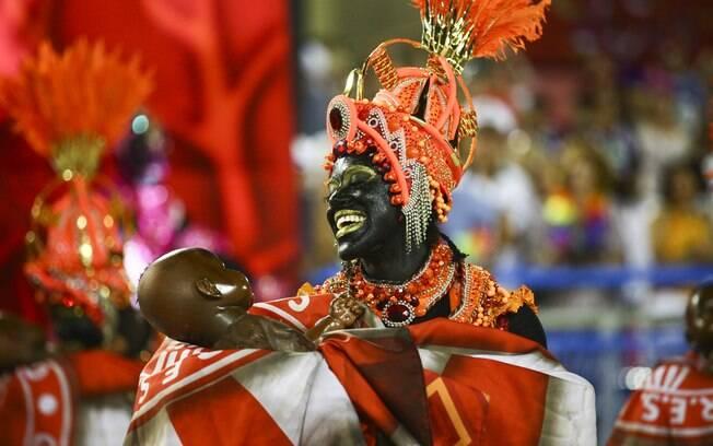 Seis escolas fecharam o desfile do carnaval do Rio