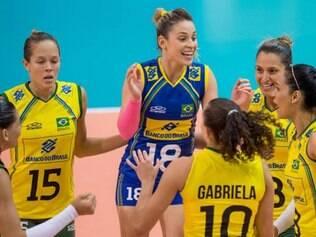 Brasil conseguiu vencer o Japão de virada, por 3 sets a 1, com parciais de 19/25, 25/20, 25/11 e 25/22
