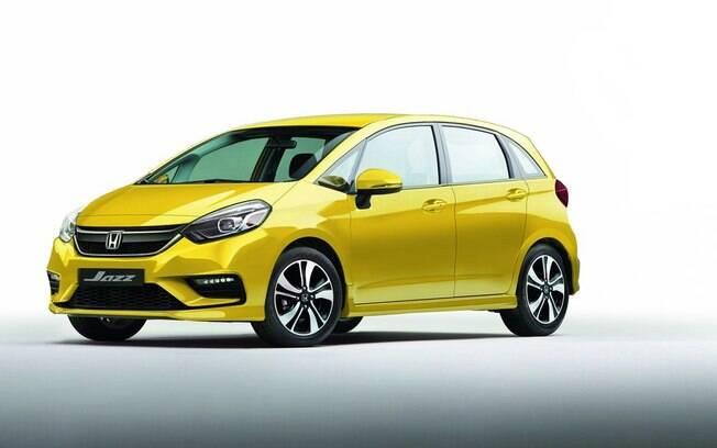 Honda Fit terá estilo mais esportivo que o atual e luzes diurnas de LED embutidas no para-choque