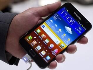 Galaxy Note, smartphone de 5,3 polegadas