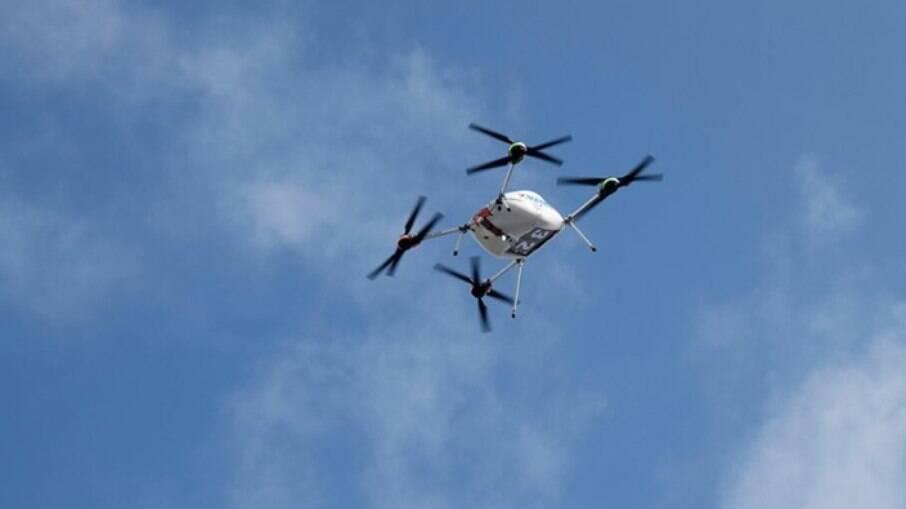 Samsung fará entregas de smartphones através de drones