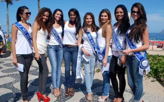 Participantes do Miss Rio de Janeiro pedem mais transparência no concurso