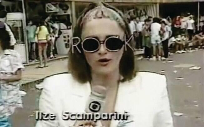 Em 1985, durante as transmissões do Rock in Rio, Ilze demonstrou bom humor que combinava com a ocasião