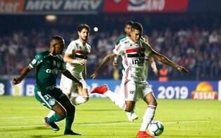 Palmeiras empata com São Paulo e clássico termina em 1 a 1